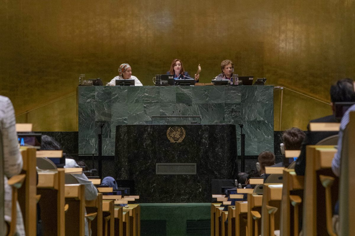 General Assembly: 16th meeting  closing