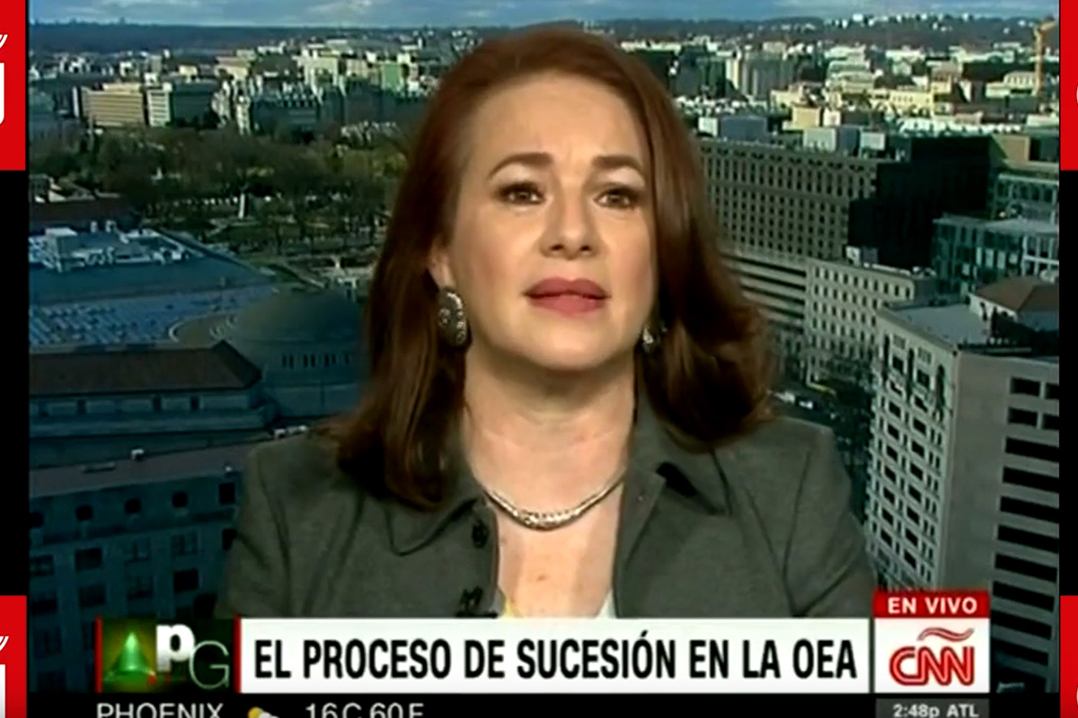 CNN : A woman could aspire to head the OAS