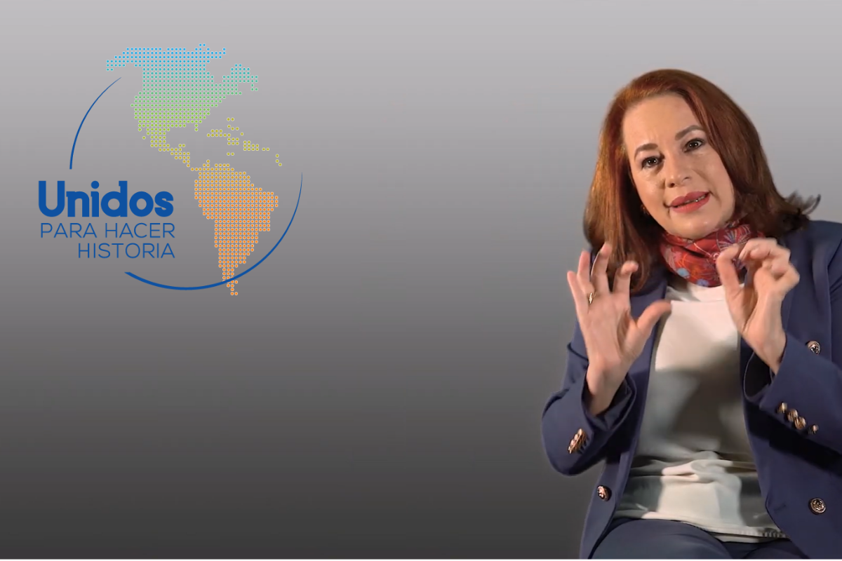 What is Maria Fernanda's differential proposal for the OAS General Secretariat?